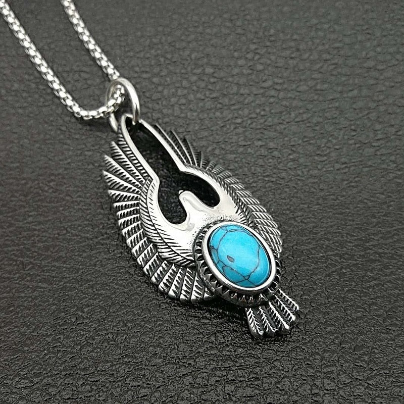 Native Eagle Statement Necklace