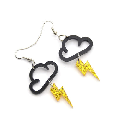 Cloud Lightning Earrings