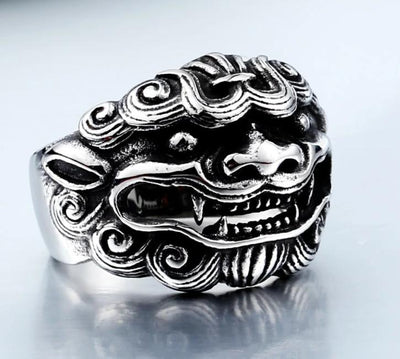 Imperial Guardian Lion Ring