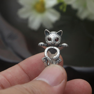 Kitten Wrap Ring