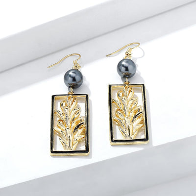 Coco Sprout Drop Earrings