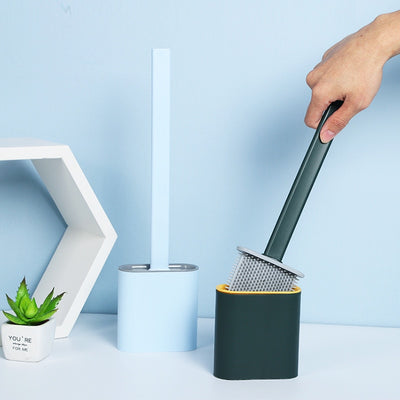 Minimal Wall-Mounted Toilet Brush