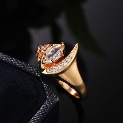Brilliant Zircon Ring