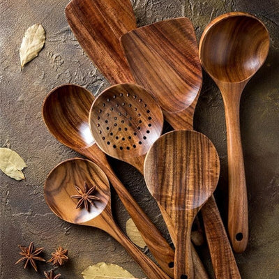 Gellert Teak Kitchen Set