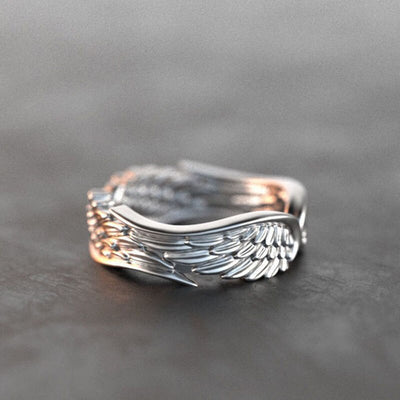 Twin Wing Angel Ring