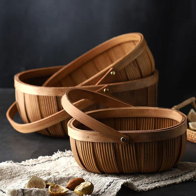Lombard Woven Basket