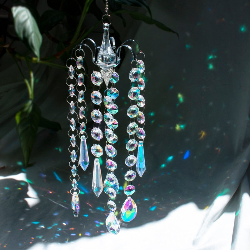 Crystal Prism Wind Chime