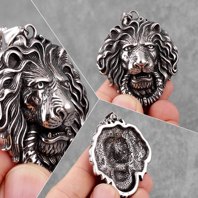 Domineering Lion King Pendant