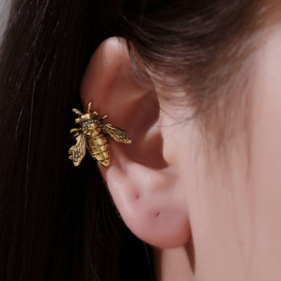 Little Bee Ear Cuff Earring