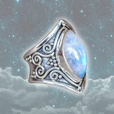 Colossal Crystal Healing Ring