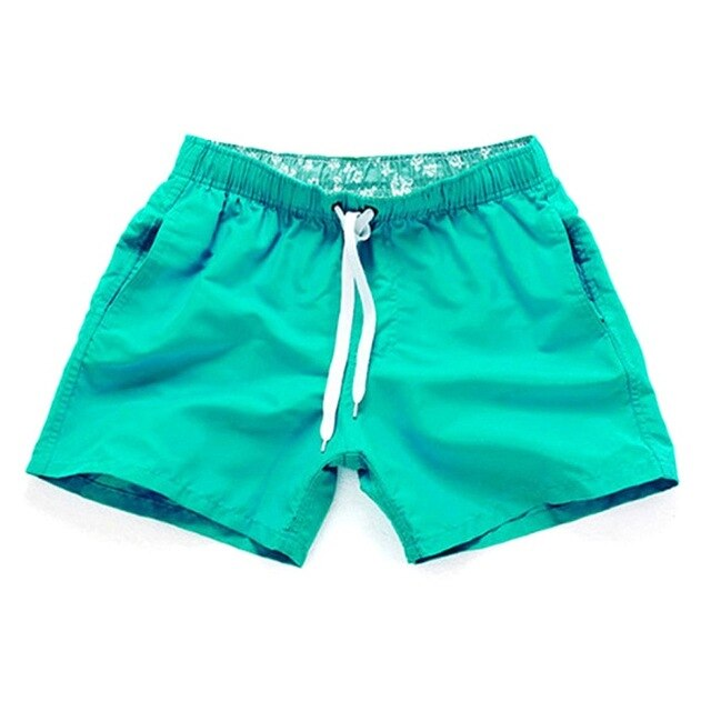 Quick Drying Trunks with Pockets Drawstring