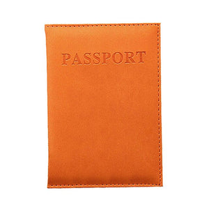 Travel Passport Book Case