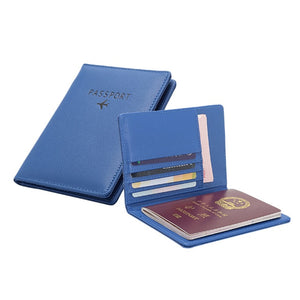 Leather Passport Cover Women