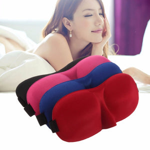Travel Sleeping Eye Mask - Blindfold Sponge Cover