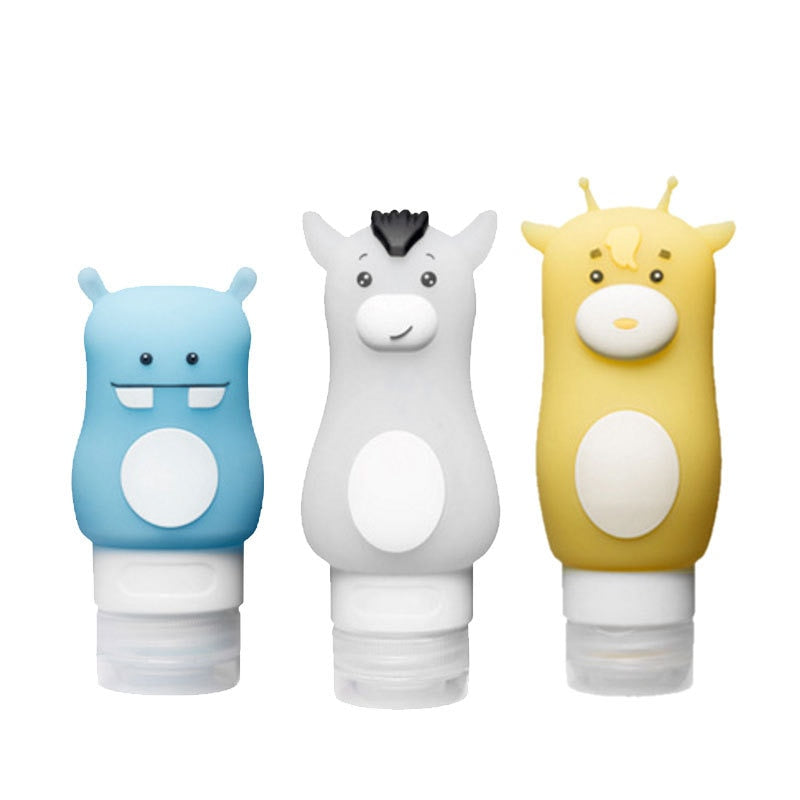 Cartoon Animal Cute Emulsion Dispensing Bottle 1pc