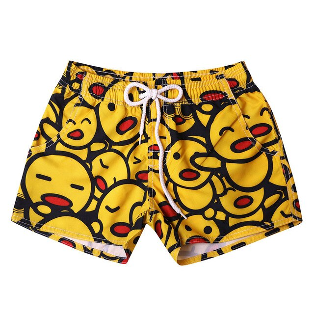 Emoji Men Swim Pants