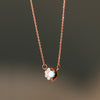 Cozumel Necklace Rose Gold - Turquoise