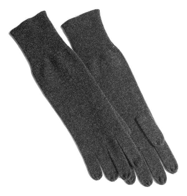 Cashmere Gloves in Dark Charcoal - sonyahopkins.com