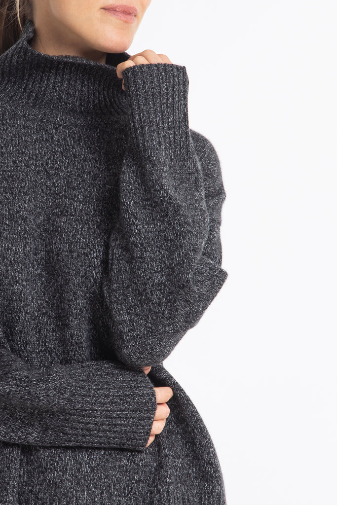 Cashmere Sunday Sweater in Storm