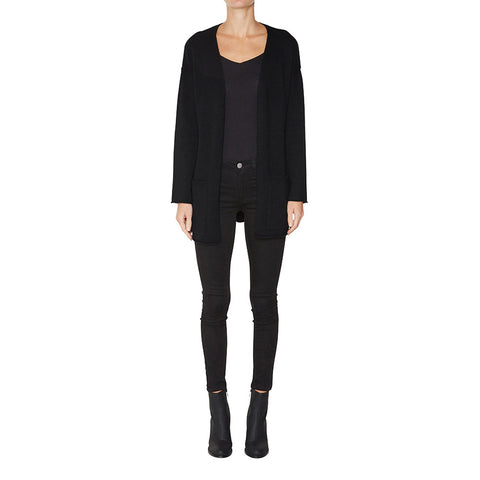 Madison Cashmere Cardigan in Black - sonyahopkins.com