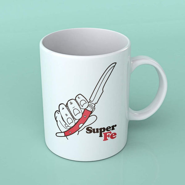 TAZA NAVAJA SUPERFE  | TAZAS ORIGINALES EXCLUSIVAS | NAVAJAS ALBACETE  | SUPERFE.ES
