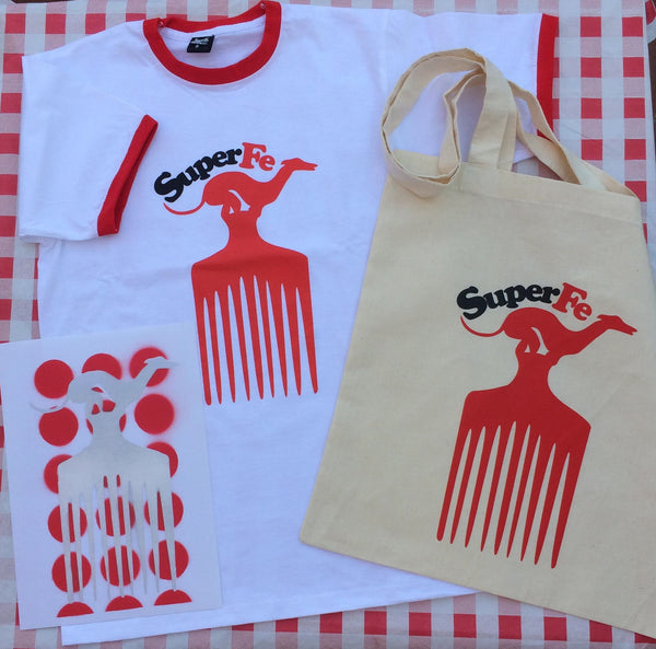 OFERTA SUPERFE | TOTEBAG CAMISETA Y LAMINA TIRABUZONES  | OFERTAS EXCLUSIVAS ORIGINALES SUPERFE.ES