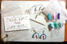 Load image into Gallery viewer, Polymer clay earring kit