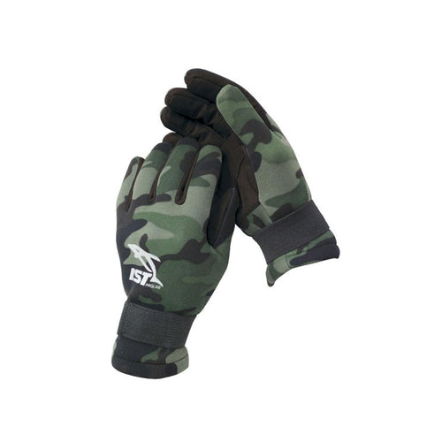 2mm Green CAMO Gloves