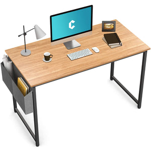 "Cubiker Computer Natural Desk 47"" Home  Office Writing Study Desk"