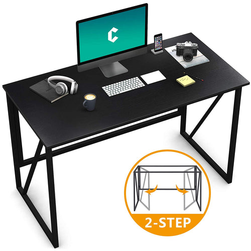 "Cubiker Writing Computer Desk 40"" Modern Simple Study Desk,Easy Assembly Black"