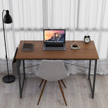 "Load image into Gallery viewer, Cubiker Computer Espresso Desk 47"" Home  Office Writing Study Desk"
