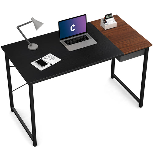 computer desk with draw