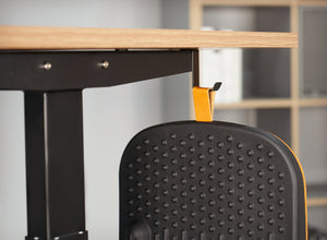 Crostream Standing Desk Mat with Anti Fatigue Bar