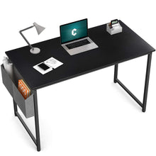"Load image into Gallery viewer, Cubiker Black Computer Desk 40"" Home  Office Writing Study Desk"