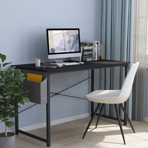 "Cubiker Computer Black Desk 47"" Home  Office Writing Study Desk"