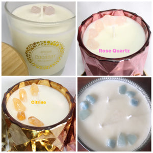 CRYSTAL ACCENTS FOR CANDLES
