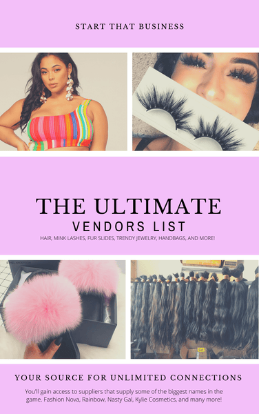The       Ultimate Vendors List -