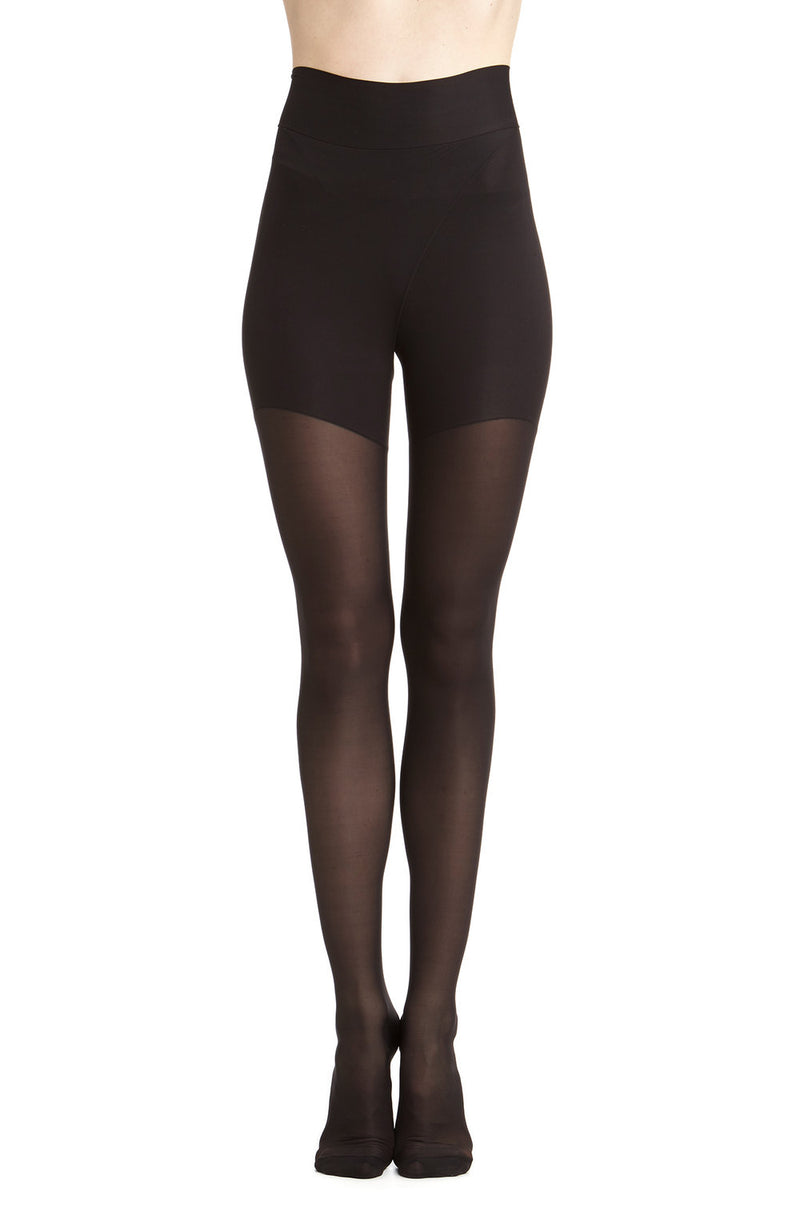 1590 Sirius Suspender Tights / Black