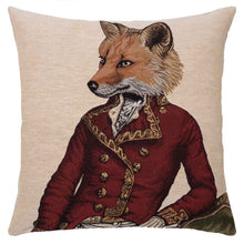 Load image into Gallery viewer, Master Fernando Fox tapestry cushion