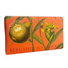 Load image into Gallery viewer, Bergamot & Ginger Kew Gardens Soap