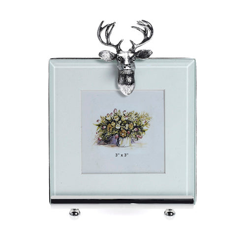 Stag photo frame