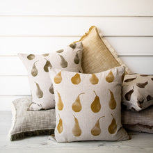 Load image into Gallery viewer, Pear Cushion Mustard