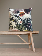 Load image into Gallery viewer, Spring Floral - Printed Velvet Cushion