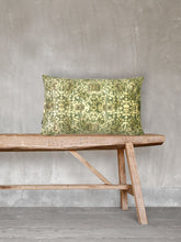 Load image into Gallery viewer, Pretty Green - Printed Velvet Cushion