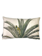 Load image into Gallery viewer, Monkey Palm - Printed Velvet Cushion