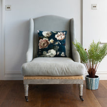 Load image into Gallery viewer, Velvet Cushion - Flora