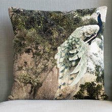 Load image into Gallery viewer, Velvet Cushion - Peacock
