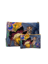 Load image into Gallery viewer, Jungle Leopard - Makeup Bag & Purse Set