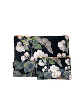 Load image into Gallery viewer, Appleblossom Black - Makeup Bag & Purse Set