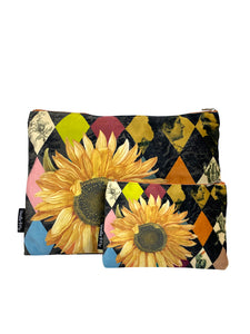 Sunflower - Makeup Bag & Purse Set